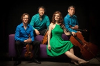 Music from the Library:  Del Sol String Quartet thumbnail Photo