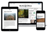 New York Times Digital Now Available thumbnail Photo