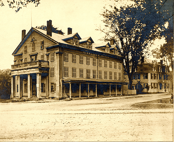 The Middlesex Hotel in the 1890s