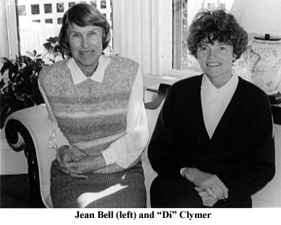 Jean Bell and Di Clymer