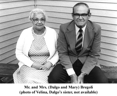 Dalgo and Mary Bregoli