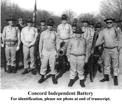 Concord Independent Battery
