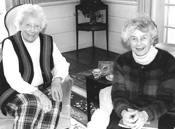 Ruth Drinker and Marie Eaton