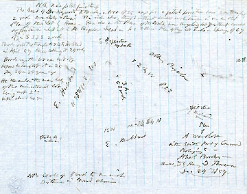 10 Plan of a Woodlot in the South Part of Concord Belonging to Abel Brooks ... Dec. 29, 1857
