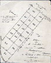 103 Plan of a Woodlot in Lincoln & Waltham Belonging to the Heirs of John Richardson ... Nov. 12, [18]53