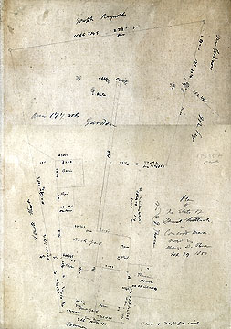 113 Plan of the Estate of Daniel Shattuck in Concord Mass. ... Sept. 29, 1860
