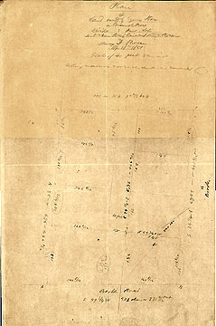 123 Plan of Land Owned by Cyrus Stow in Concord Mass. Divided into House Lots and a New Street ...