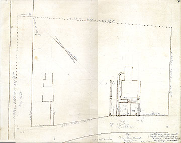125a Plan of Cyrus Stow's Grounds, Concord Mass. ... Oct. 28, 1851