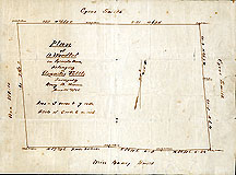 132a Plan of a Woodlot in Lincoln Mass., Belonging to Augustus Tuttle ... June 21, 1855
