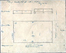 149 Plan of Cemetery Lots for Mrs. Whitman May 24, [18]56
