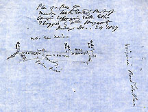 Plan of a Piece of Meadow in the Easterly Part of Concord Belonging to Mr Ellis ... Dec. 24, 1857