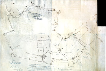 29a Plan of the Lee Farm (so called) Belonging to David Elwell Concord Mass.