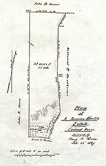 2a  Plan of A. Bronson Alcott's Estate; Concord, Mass. ... Sept. 22, 18572a Plan of A. Bronson Alcott's Estate; Concord, Mass. ... Sept. 22, 1857