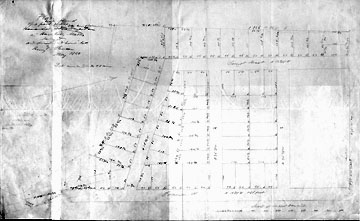 30 Plan of a Tract of Land Belonging to the Heirs of Nehemiah Emerson in Haverhill, Mass. ... May 1850.
