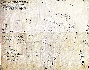41 Plan of the Farm Belonging to the Estate of Virgil Fuller (deceased) in the North Part of Concord, Mass. ...Dec. 16, 1852