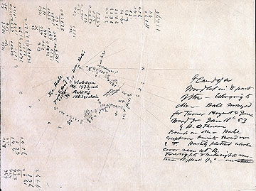 Plan of a Woodlot in W Part of Stow--Belonging to Mr.--Hale Surveyed for Turner Bryant & James Wood Jr.Jan. 18, [18]53