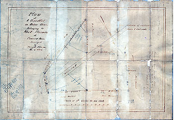 Plan of a Woodlot in Acton, Mass., Belonging to Abel Hosmer of Concord, Mass. ... Apr. 4, 1854