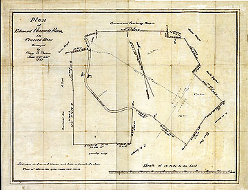 Plan of Edmund Hosmer's Farm in Concord Mass. ... June 17, 18, & 21, 1851