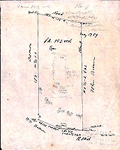 Plan of a Tract of land at the Factory Village in the SW Part of Concord Belonging to Samuel Lees ...May 17, [18]59