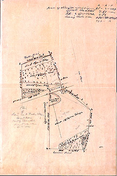 78 Plan of Land Near the Factory Village, Concord, Mass. Owned by Thomas Lord ... Apr. 12, 1851