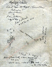 81b Rough Plan of Land Near the Depot in Concord Mass. Belonging to David Loring
