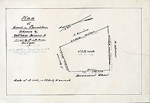 93b Plan of Land in Concord Mass. Belonging to William Monroe Jr. ... Dec. 1, 1860