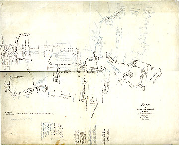 94a Plan of John B. Moore's Farm Concord Mass. ... Feb. 1853