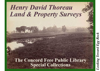 eed339a33d24d5 Henry David Thoreau Land Surveys - Concord Free Public Library Special  Collections