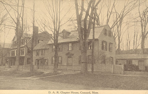 Old Concord DAR Chapter House