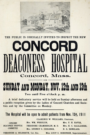 ... Concord Deaconess Hospital ...