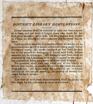 District Library bookplate