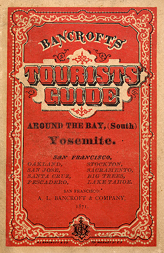 Cover from Bancroft's tourist guide ... 1871.