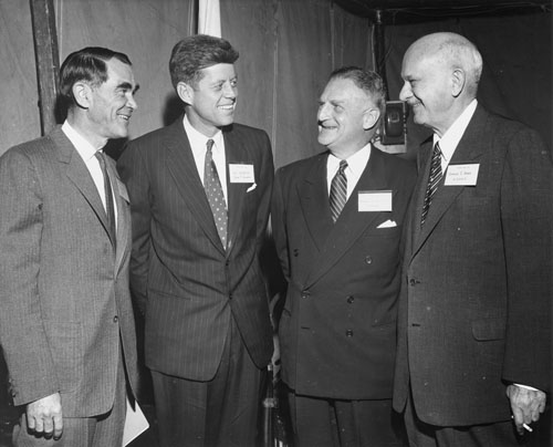 H. Hugh Willis, Senator John F. Kennery, Harold C. Smith, Harold S. Vance