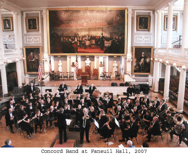Concord Band at Faneuil Hall, 2007