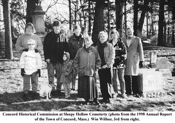 Concord Historical Commission, 1998