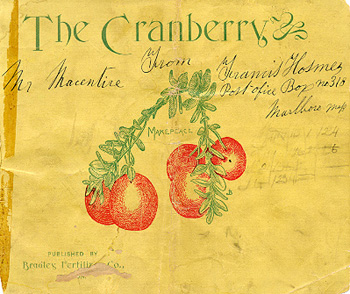 The Cranberry, cover p. [1]