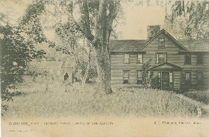 Concord, Mass. Orchard  	House — Home of the Alcotts.; circa 1905