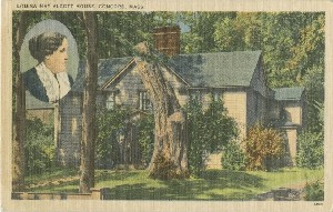 Louisa May Alcott House,  	Concord, Mass.; early to mid- 20th century