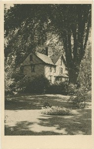 Orchard House, Concord,  	home of the Alcott Family; early to mid-20th century