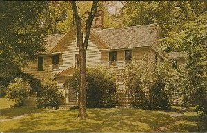 Louisa May Alcott's home,  	Concord, Massachusetts; 1964 (copyright date)