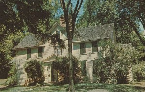 The Alcott House; late  	1950s