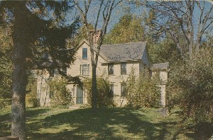 Orchard House, Concord,  	Massachusetts; mid- to late 20th century
