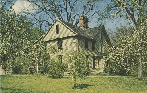 Orchard House, Concord,  	Massachusetts; late 20th century