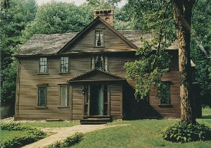 Orchard House, Concord,  	Massachusetts;