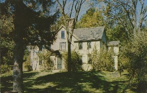 'Orchard  	House', the home of Louisa May Alcott, Concord, Mass.; mid 20th century