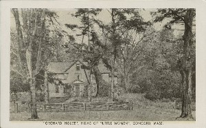 'Orchard  	House,' Home of 'Little Women,' Concord, Mass.; mid- to late 20th century