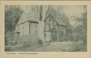 Alcott House, Concord,  	Massachusetts; early 20th century