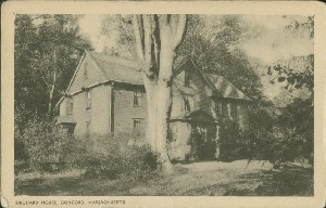 Orchard House, Concord,  	Massachusetts; early 19th century