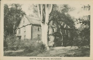 Orchard House, Concord,  	Massachusetts; early 20th century