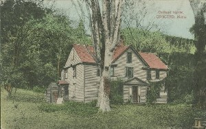 Orchard House, Concord,  	Mass.; early to mid- 20th century